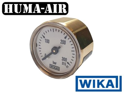 Wika Mini Pressure Gauge 28 mm 315 Bar G1/8 BSP